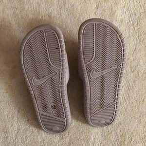 Nike Shoes - Nike Blush Pink Slides